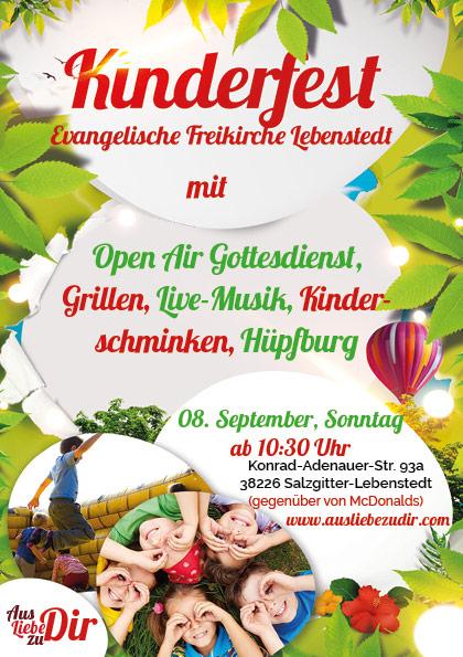 Gemeinde Kinderfest Lebenstedt